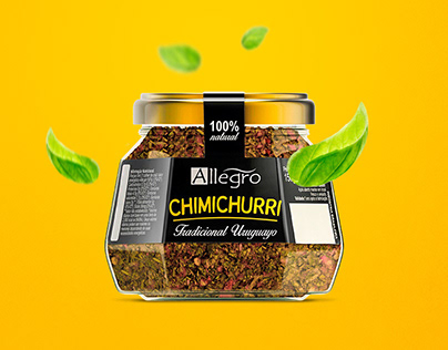 Allegro Chimichurri - packaging, website and brochure