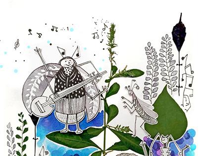 The Traveling Bug / Pratham Books