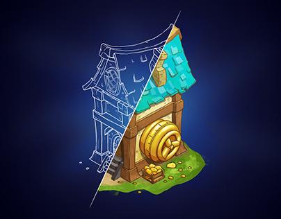 Concept Art (Building «Bank»)