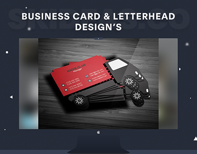 Business Card & Letterhead Designs
