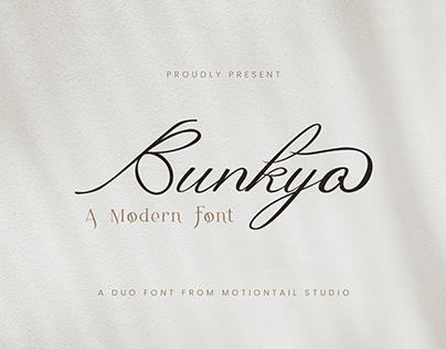 Bunkyo - Modern Font Duo