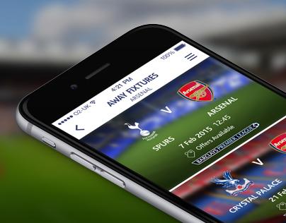 Premier League Away Days iPhone App