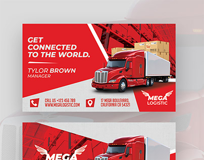 Logistic Business Card