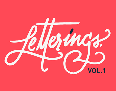 Hand Made Letterings Vol. 1
