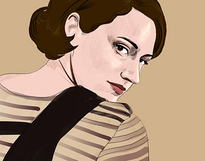 Fleabag - Fan art Illustration