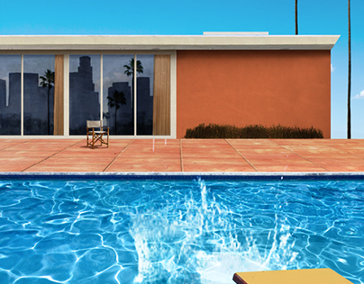 Dive In: A study of David Hockney
