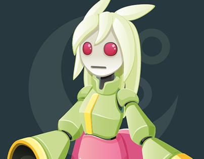 Character Design - KAGUYA