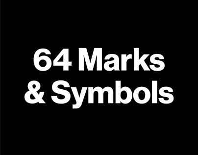 64 Logomarks & Symbols