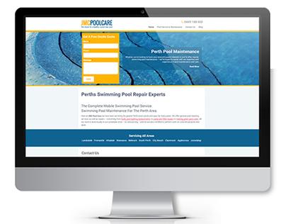 JMC Poolcare Website