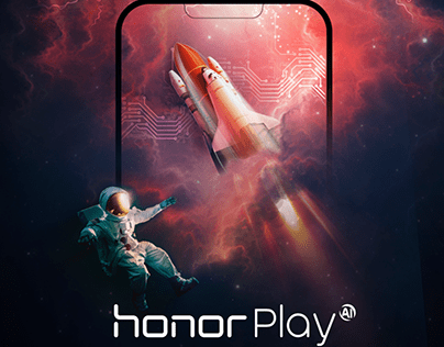 Huawei Honor Play Launch in Europe HTML5 Banners Design