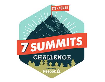 7 Summits Challenge Campaign Creative