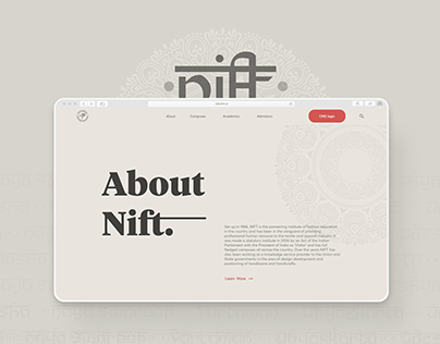 NIFT Redesign Case Study