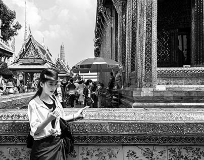 Wat Phra Kaew : วัดพระแก้ว  Bangkok Thailand