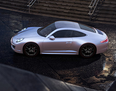 Porsche 911 (991) Autodesk AliasStudio