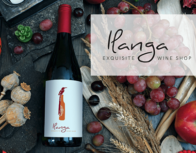 Ilanga - exquisite wine shop - Logo Development