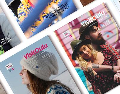 VisitOulu Magazine Redesign