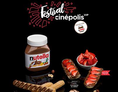 Festival Nutella para Cinépolis VIP