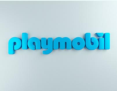 Playmobil Brand Logo Animation