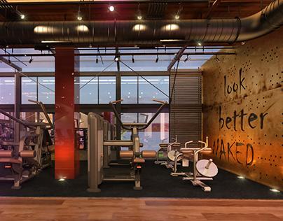 25 Degree Gym |Interior Design.
