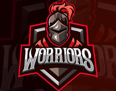 Worriors mascot logo