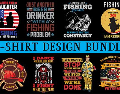 T-shirt design bundles