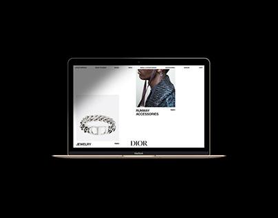 DIOR - Men's E-commerce