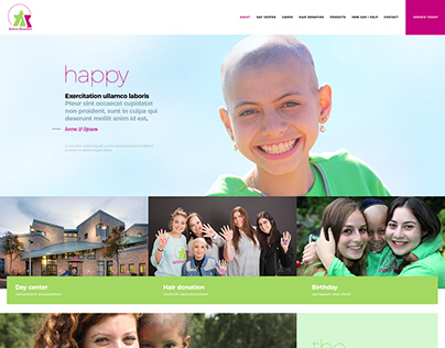 Children Foundation web design