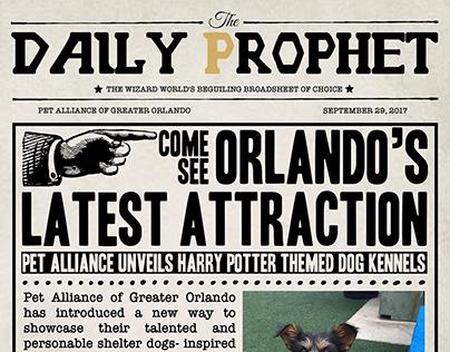 """Pet Alliance """"Daily Prophet"""""""