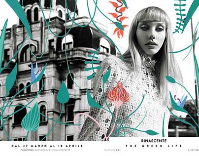 RINASCENTE   The Green Life ss18 adv campaign