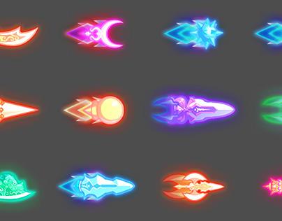 두리BURN(2014,mobile) 2D Effects