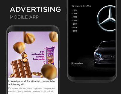 UIs, Interactive & Motion Advertising