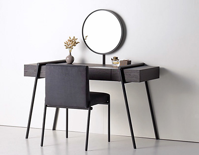 Dressing table from the DUOO collection for Zegen