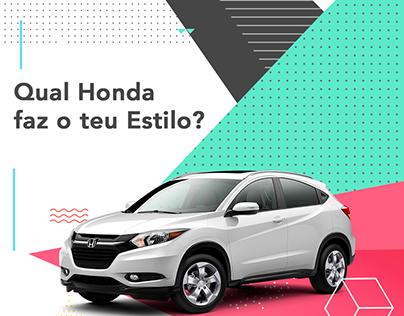 Social Media: Honda Estilo [Redação]