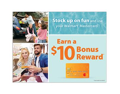 Walmart - Summer World Spend Mailer