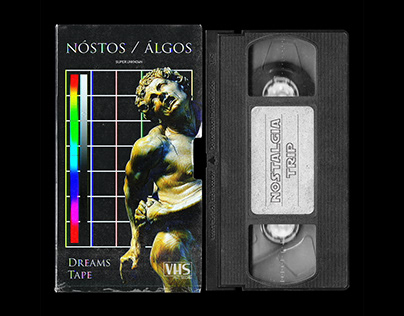 VHS Tape and Cover Mockup PSD - Photoshop