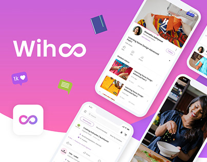 Wihoo - A Social Platform for Homemakers.