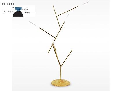 Lamp Gallia - Luminária Gallia - Prêmio MCB - Selecão