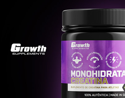 Embalagens Growth Supplements