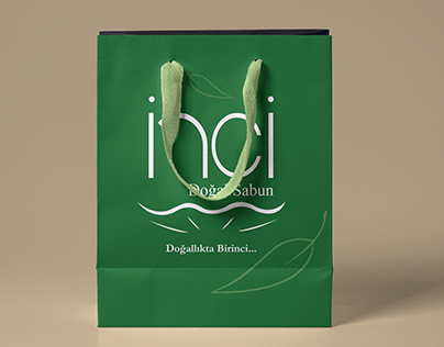 İnci Sabun Ambalaj Tasarımı