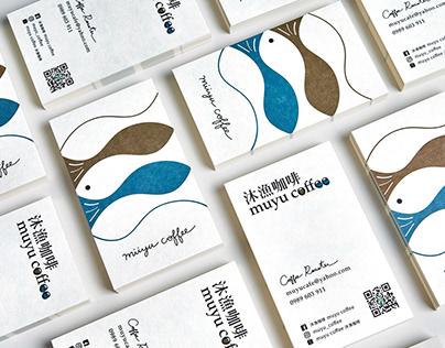 business card | muyu coffee