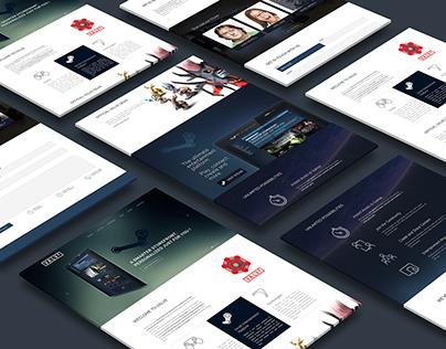 Valve Coorporate Website (WIP)