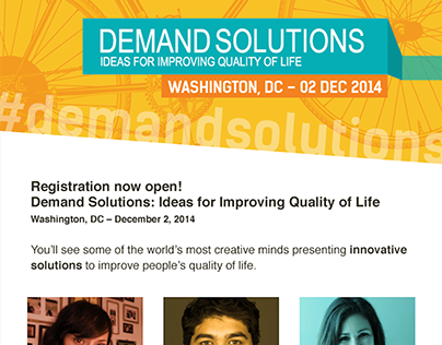 Email Campaign - Demand Solutions 2014