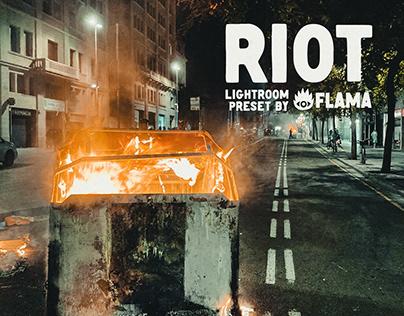 "[FREE] ""Riot"" Lightroom Preset"