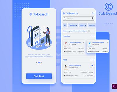 job Search UI Application