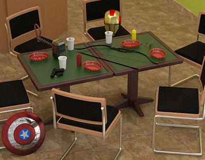 The Avengers Shawarma Restaurant (Evolve)