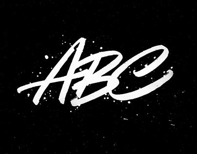 Custom lettering & calligraphy
