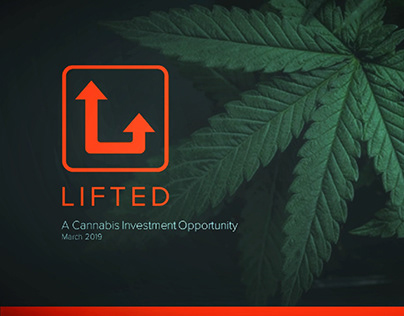 Logo and Presentation Design for a cannabis startup