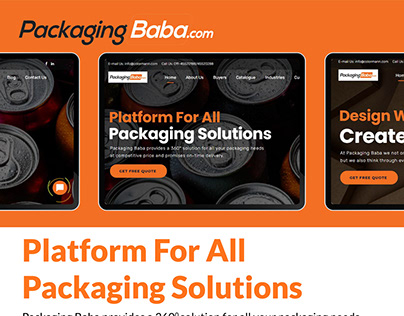 PHP website developers for a packaging enterprise