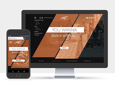 Website Wannadance