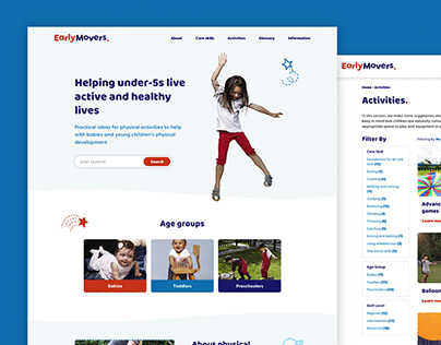 Early Movers Web Design